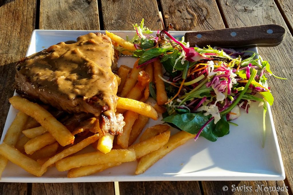 T-Bone Steak in einem der Pubs in Fremantle