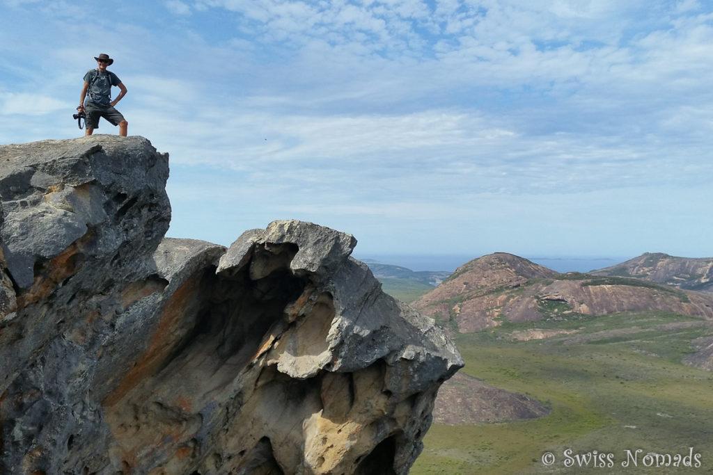 Frenchman Peak Aussicht
