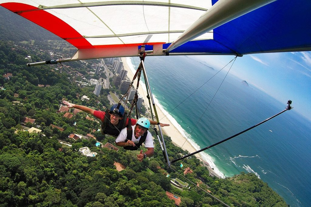 Jan Hanggliding in Rio