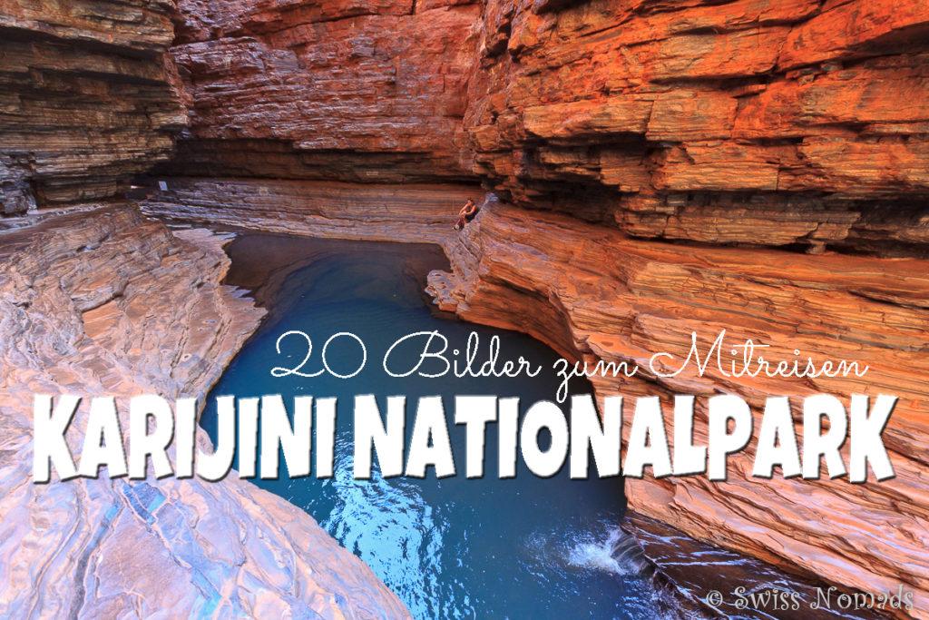 Karijini Nationalpark in Westaustralien