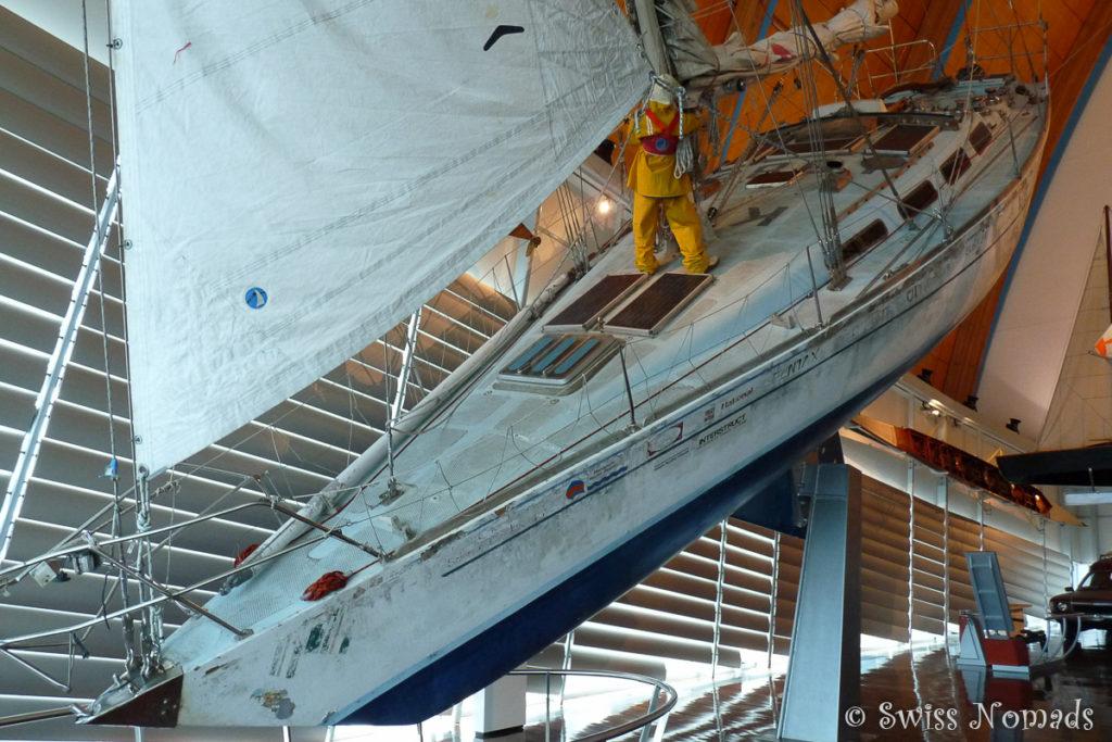 Zweimal alleine um die Welt im Segelboot
