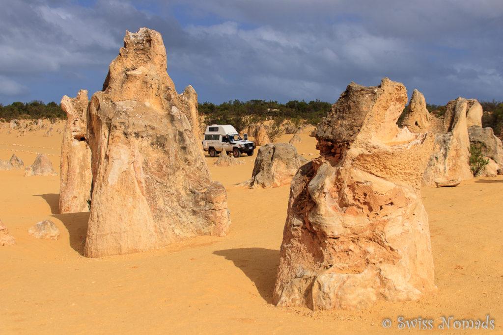 Troopy in der Pinnacles Desert