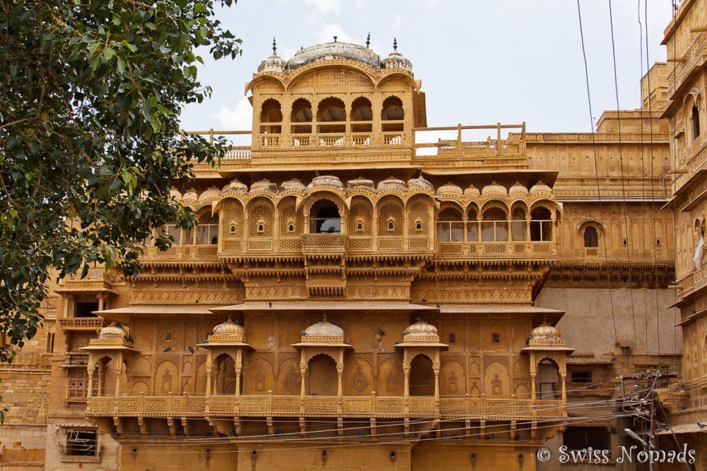 Das Raj Mahal in Jaisalmer