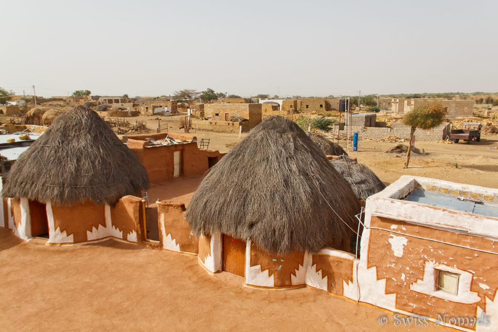 Das Registhan Guesthouse in der Thar Wüste