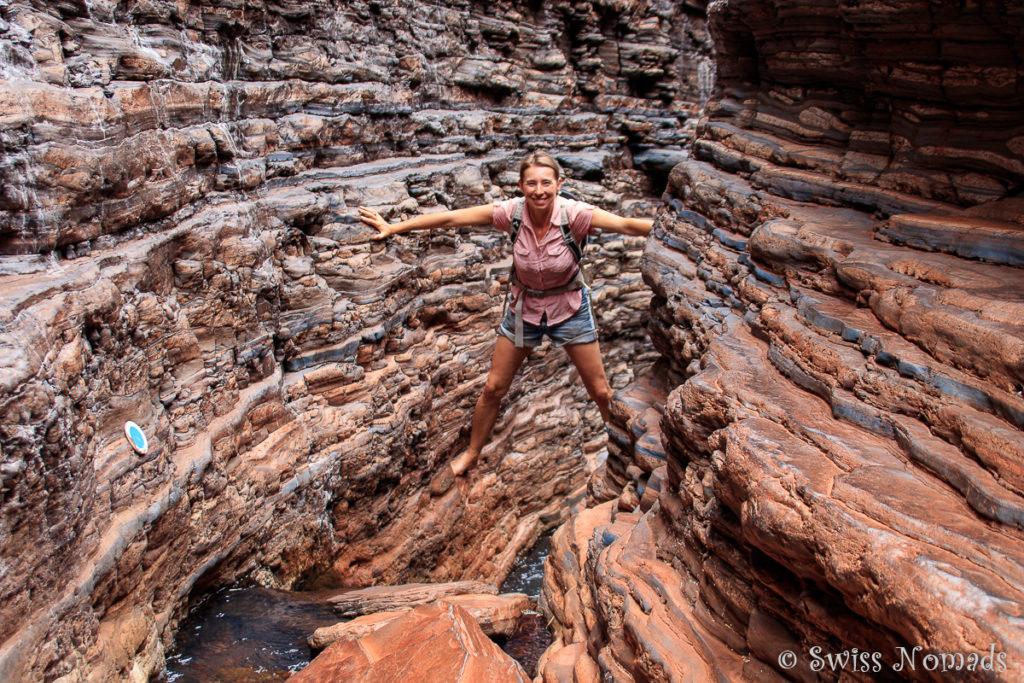 Spider Walk im Karijini Nationalpark