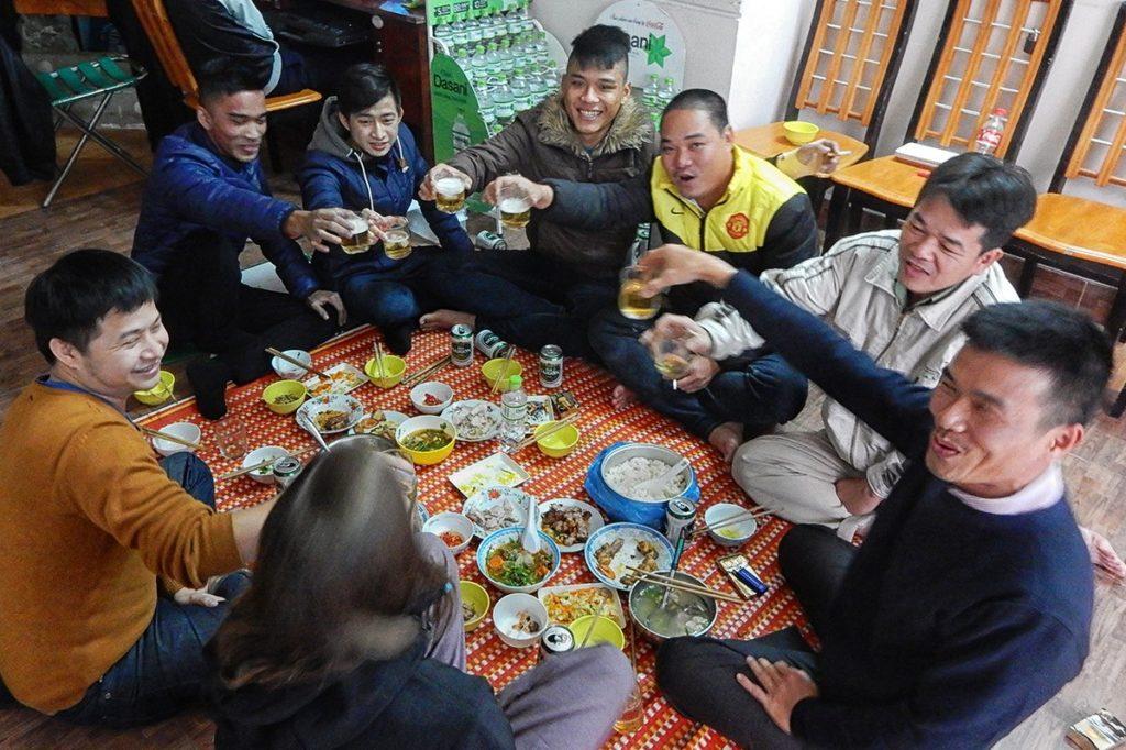 Vietnamesisches Neujahr mit Locals