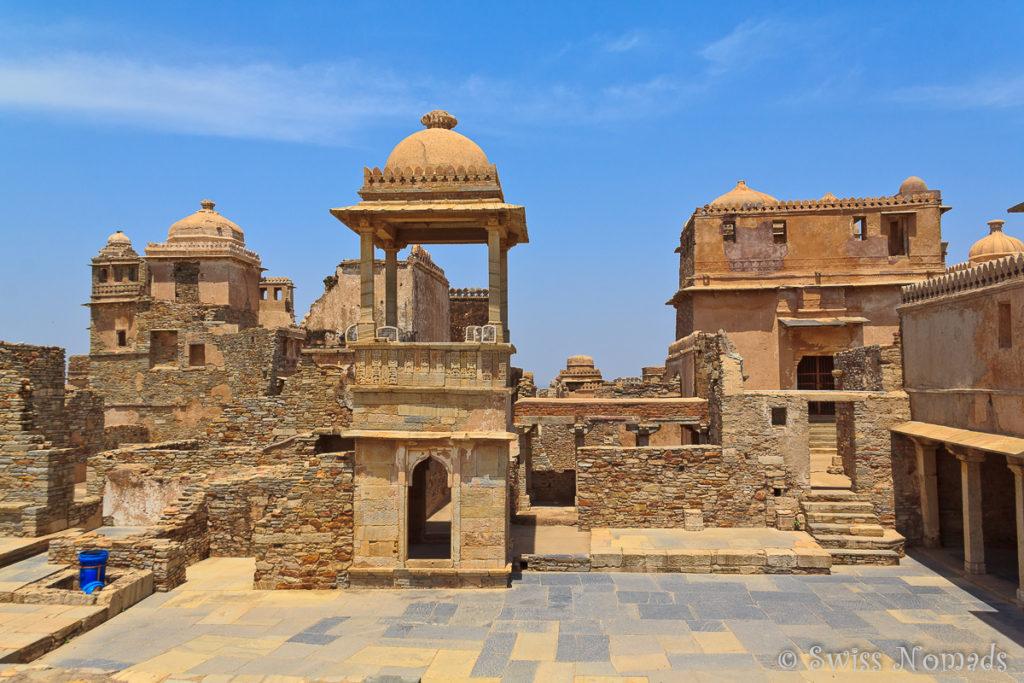 Das Chittorgarh Fort auf dem Weg von Udaipur nach Bundi