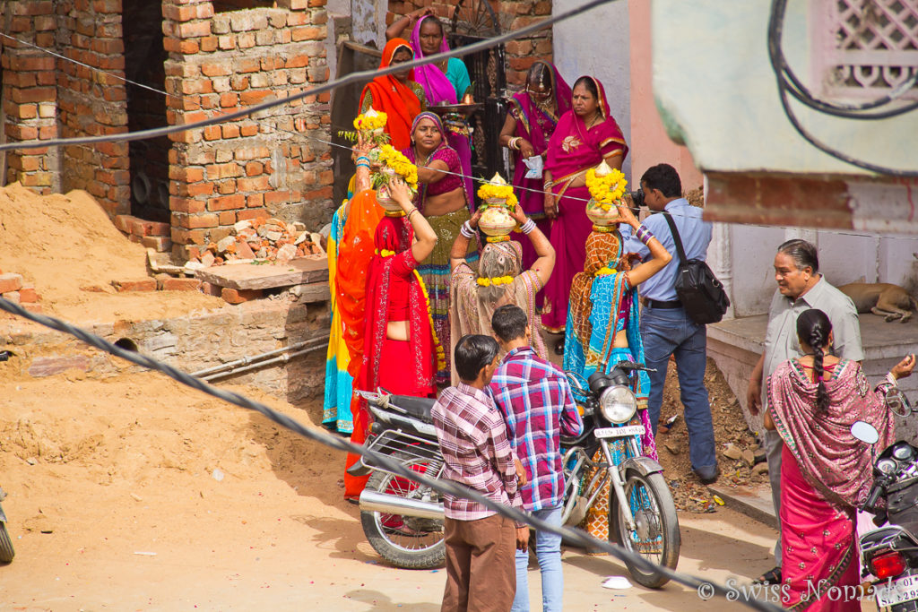 Hochzeit in der heiligen Stadt Pushkar