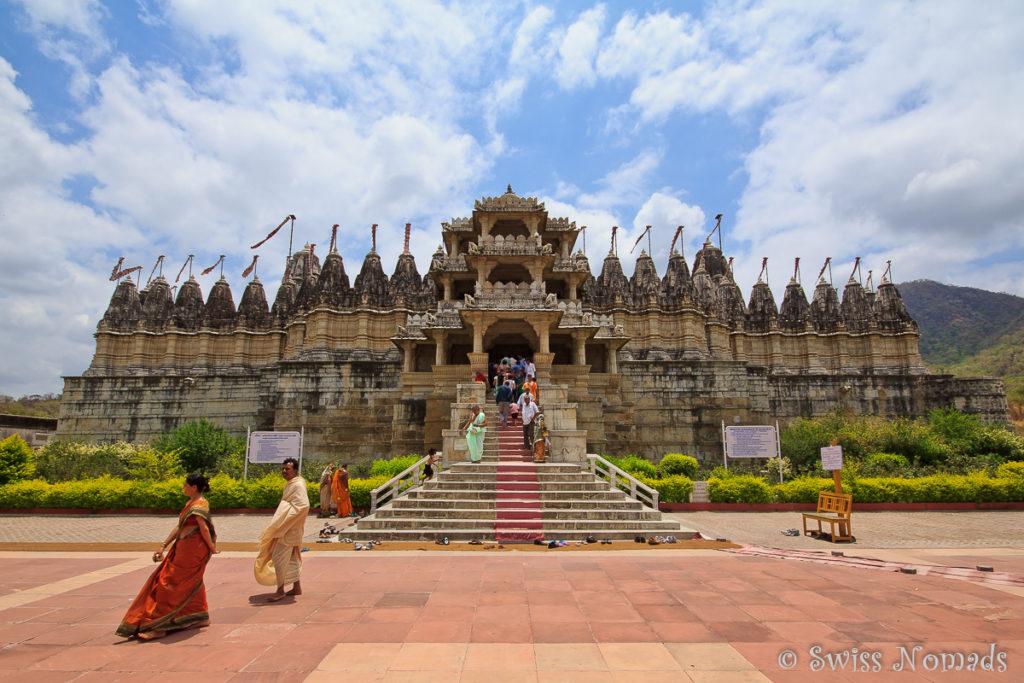 Der Jain Tempel Adinatha in Ranakpur
