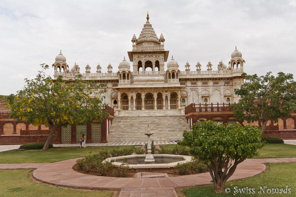 Das Grabmal Jaswant Thada ist eine weitere Sehenswürdigkeit in Jodhpur