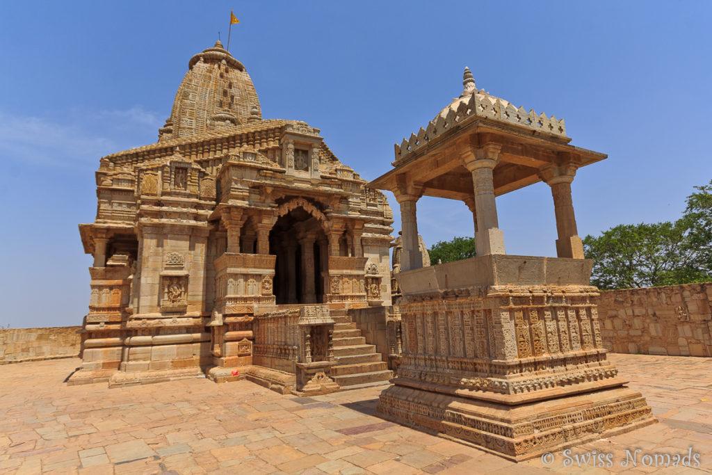 Der wudervolle Tempel Kalika Mata im Chittorgarh Fort