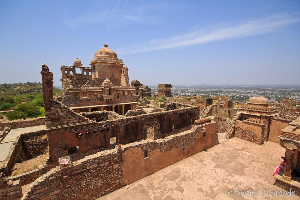 Der Palast Rana Kumbha im Chittorgarh Fort