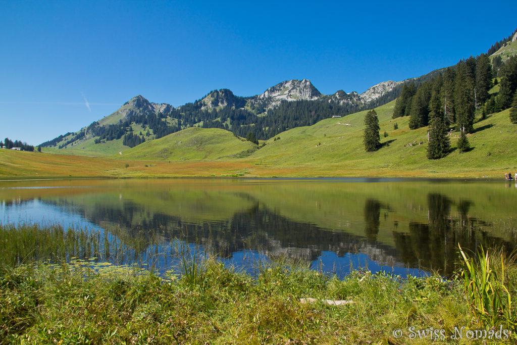 Bergsee in der Schweiz