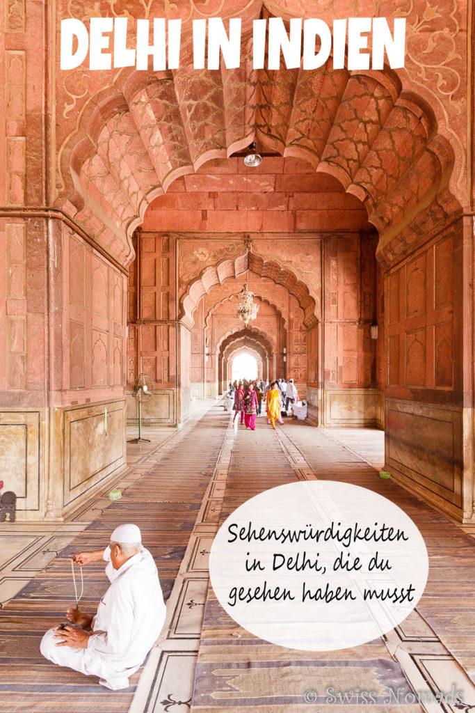 Sehenswürdigkeiten Delhi, Indien