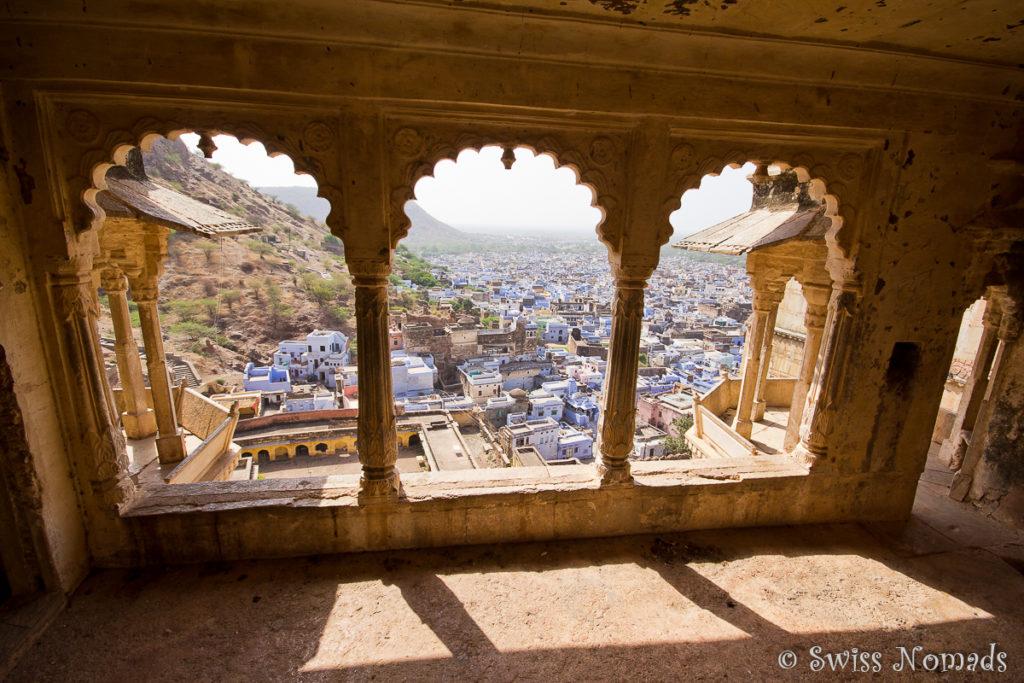 Die Aussicht im Taragarh Fort in Bundi