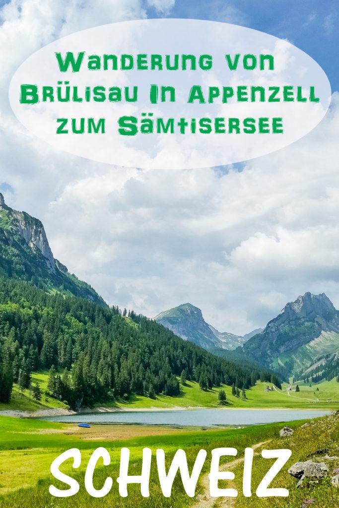 Die Wanderung zum Sämtisersee in Appenzell