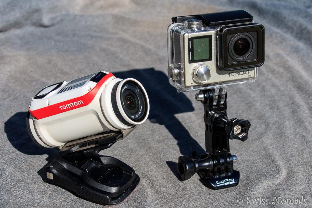 Actionkameras auf Reisen - Gopro Hero 4 vs TomTom Bandit im Praxistest