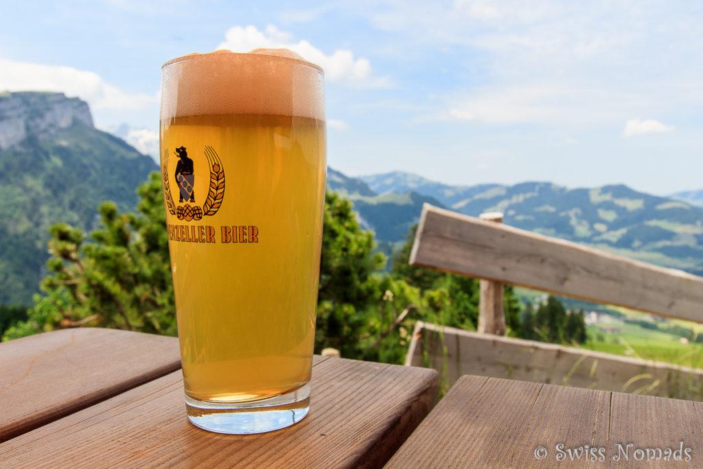 Appenzeller Bier im Ruhesitz