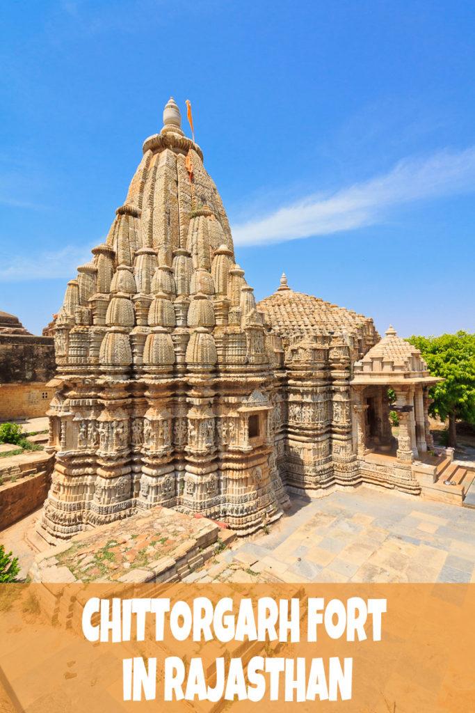 Das Chittorgarh Fort in Rajasthan, Indien