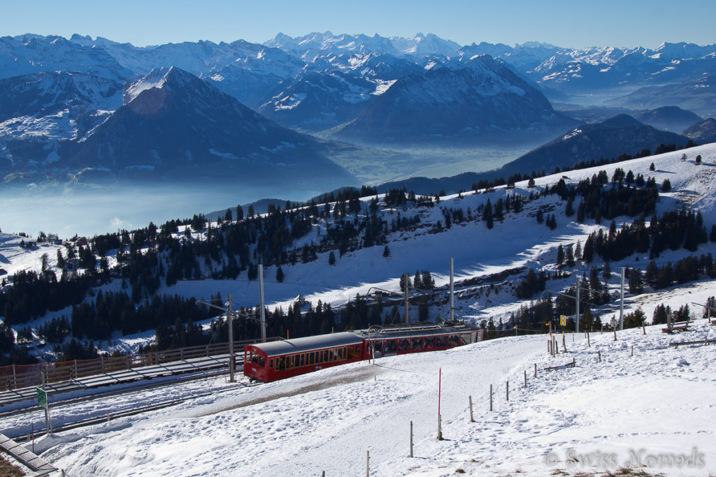 Rigi Kulm im Winter