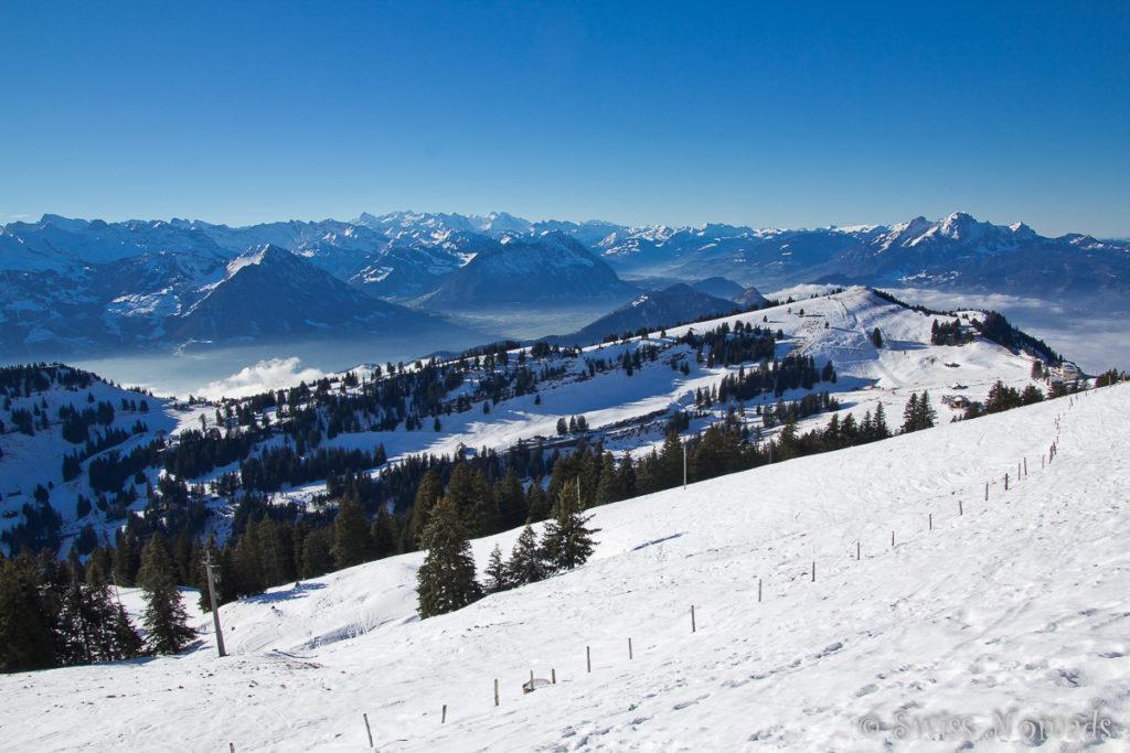 Rigi Winterlandschaft