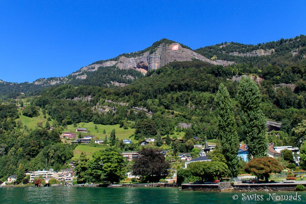 Schifffahrt von Vitznau nach Luzern