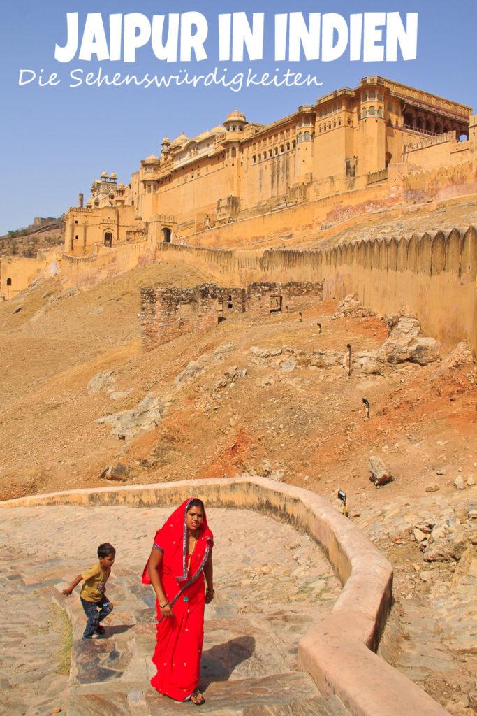 Die Sehenswürdigkeiten in Jaipur - Amber Fort