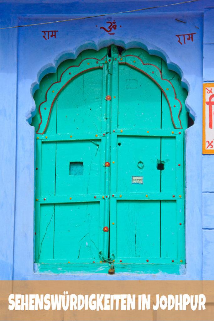 Die Sehenswürdigkeiten in Jodhpur, Indien