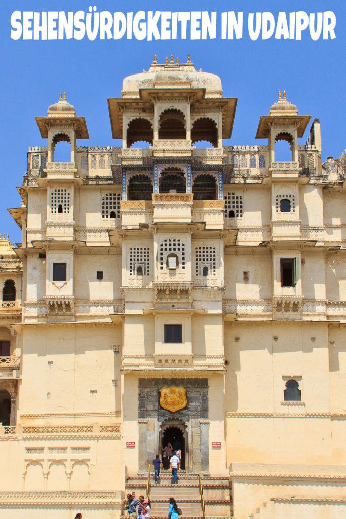 Die Sehenswürdigkeiten in Udaipur