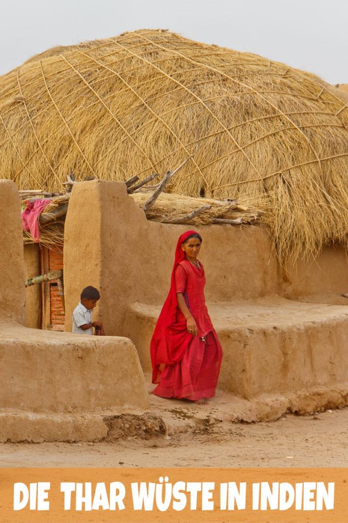 Wie die Bewohner der Thar Wüste in Rajasthan leben