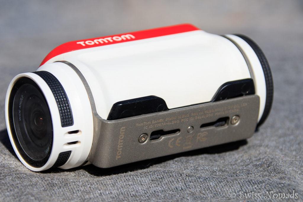 Die TomTom Bandit Actionkamera begeistert mit dem Schnellverschluss
