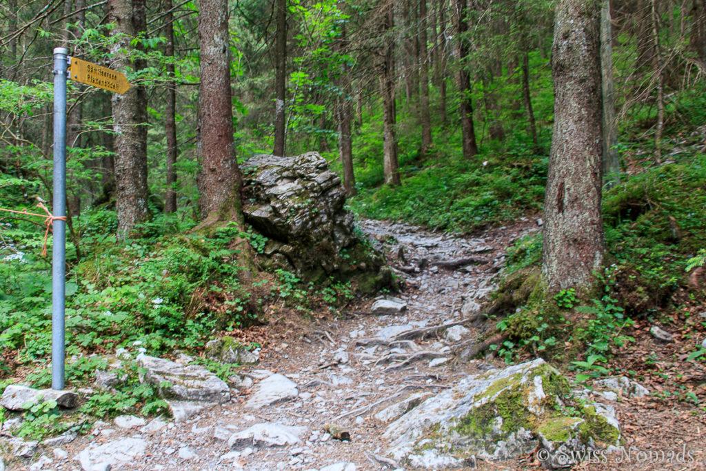 Wandern zum Sämtisersee