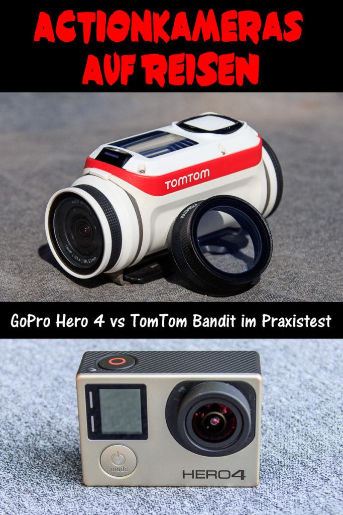 Actionkameras auf Reisen. Die Gopro vs. TomTom im Praxistest