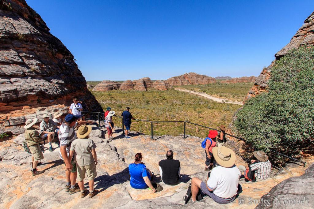 Wunderschöne Aussicht vom Piccaninny Lookout