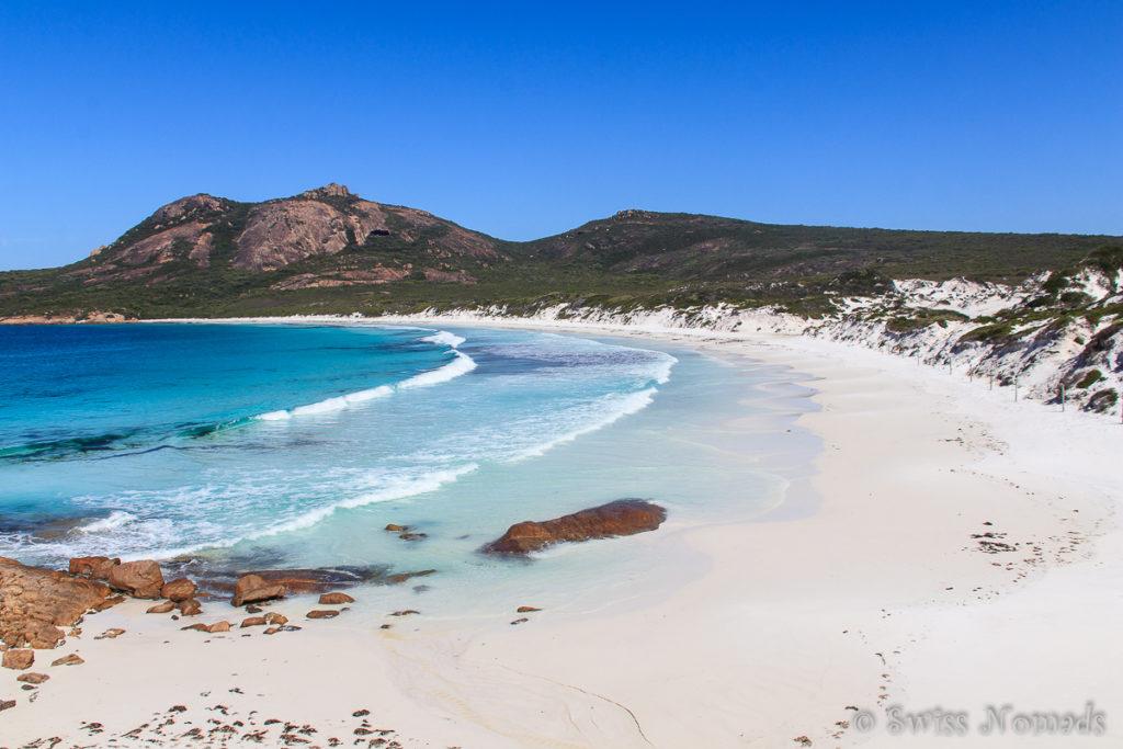 Wunderschöner Strand im Cape Le Grand Nationalpark