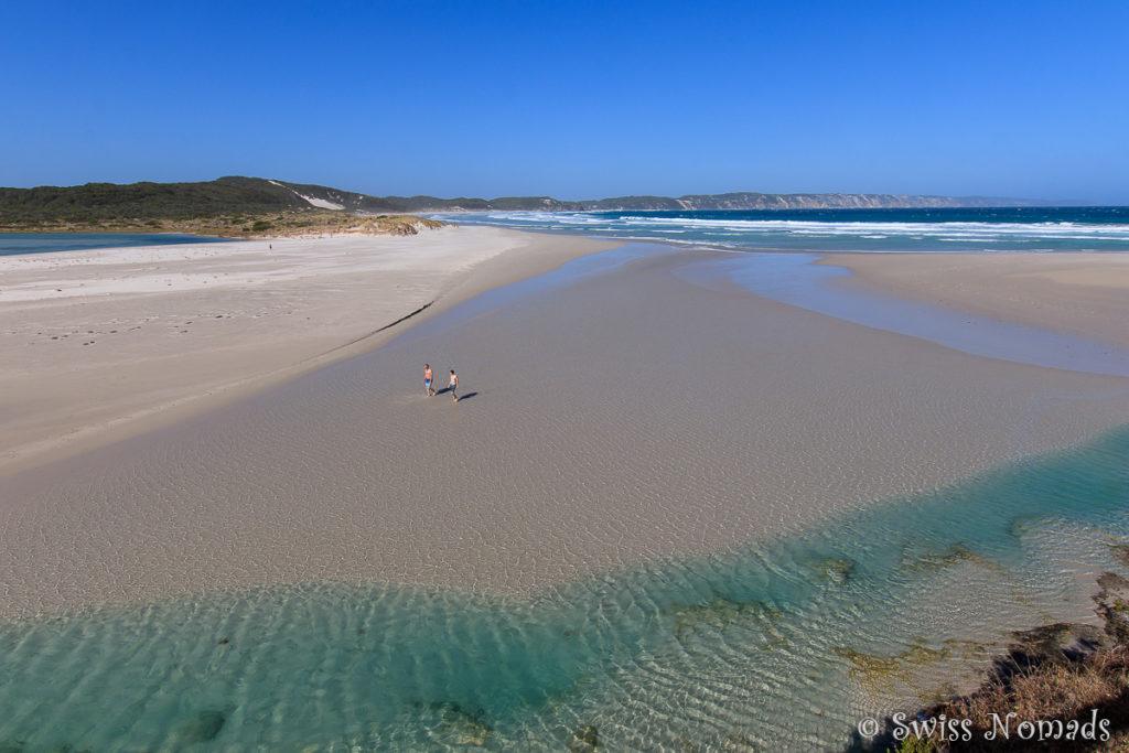 Die Küste bei Denmark in Westaustralien