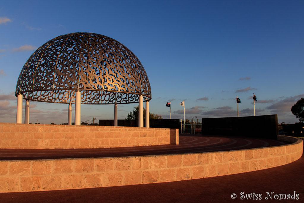 Das HMAS Sydney Memorial in Geraldton