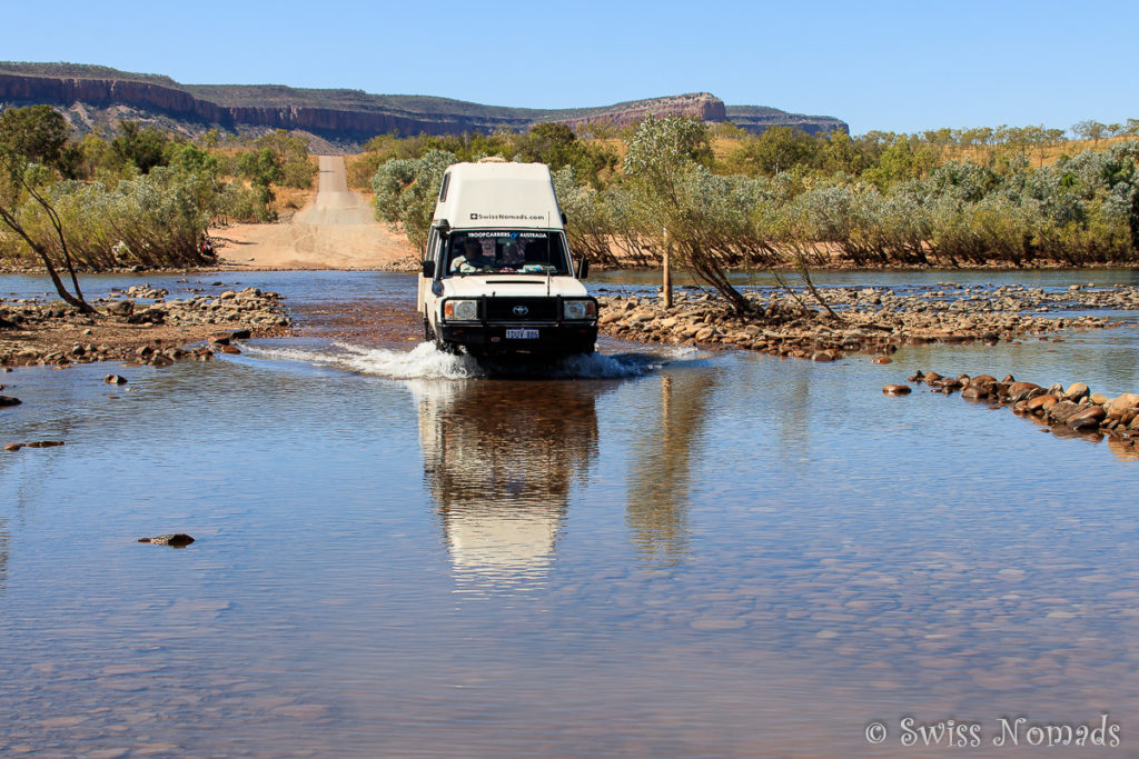 Die Gibb River Road durch die Kimberleys in Westaustralien