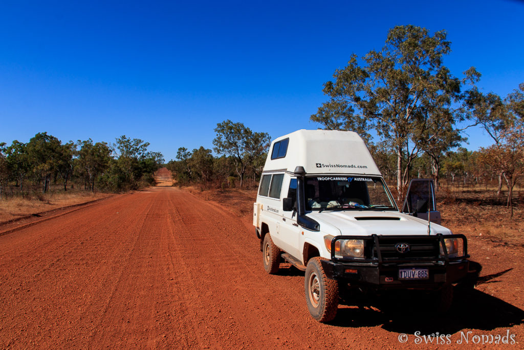 Auf der Kalumburu Road zum MItchell Plateau