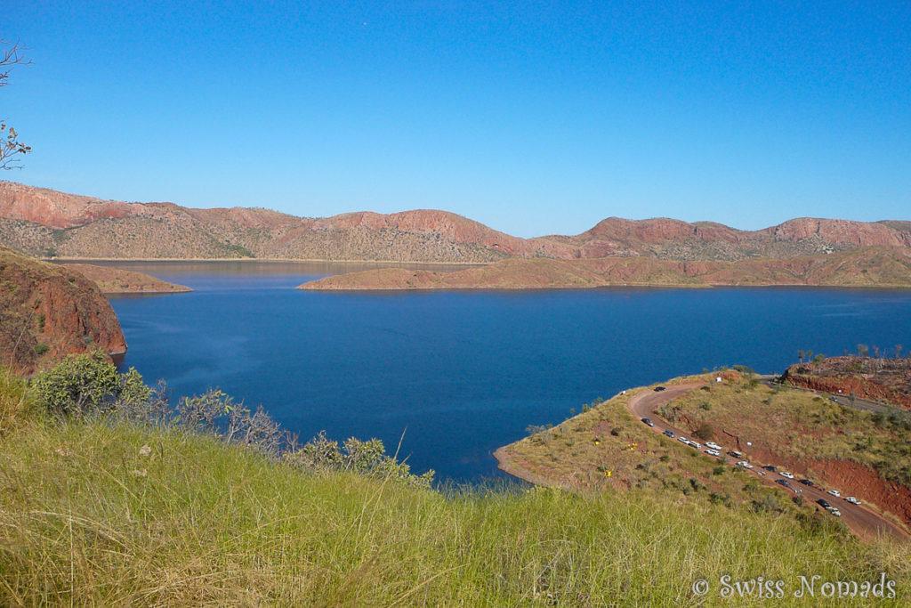 Der riesige Lake Argyle ausserhalb von Kununurra