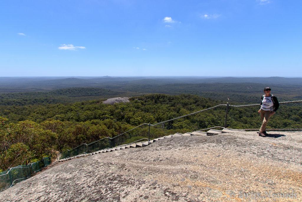 Die Aussicht vom Mt Frankland in Westaustralien