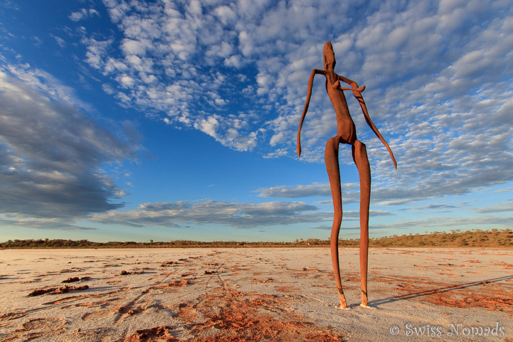 Die beeindruckenden Skulpturen im Lake Ballard