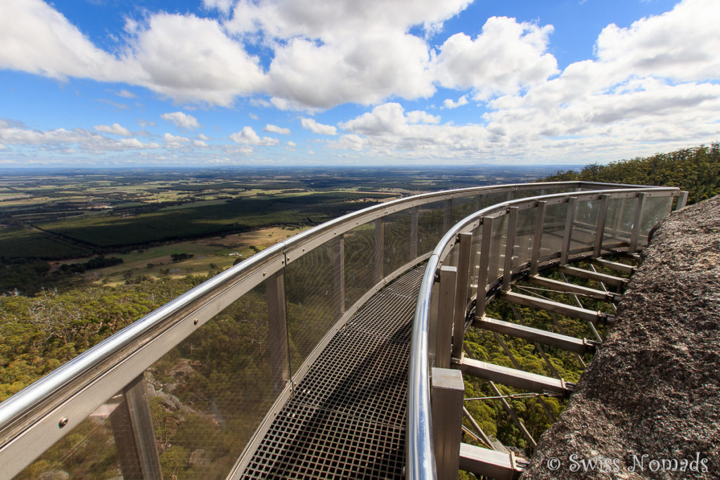 Der Sky Walk am Castle Rock im Porungurup Nationalpark