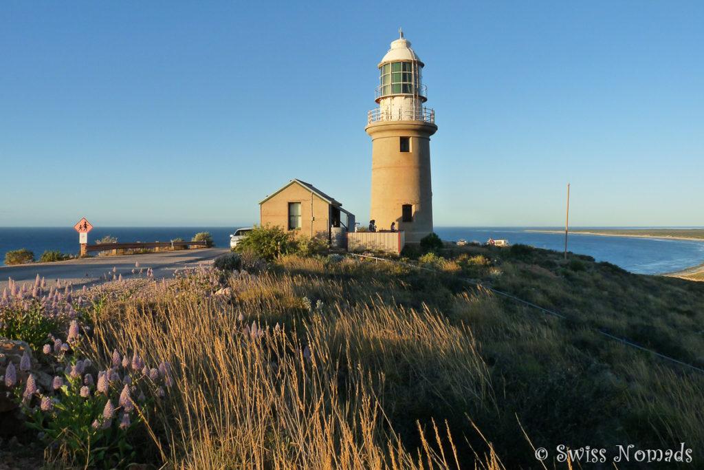 Der Vlaming Head Leuchtturm nördlich von Exmouth