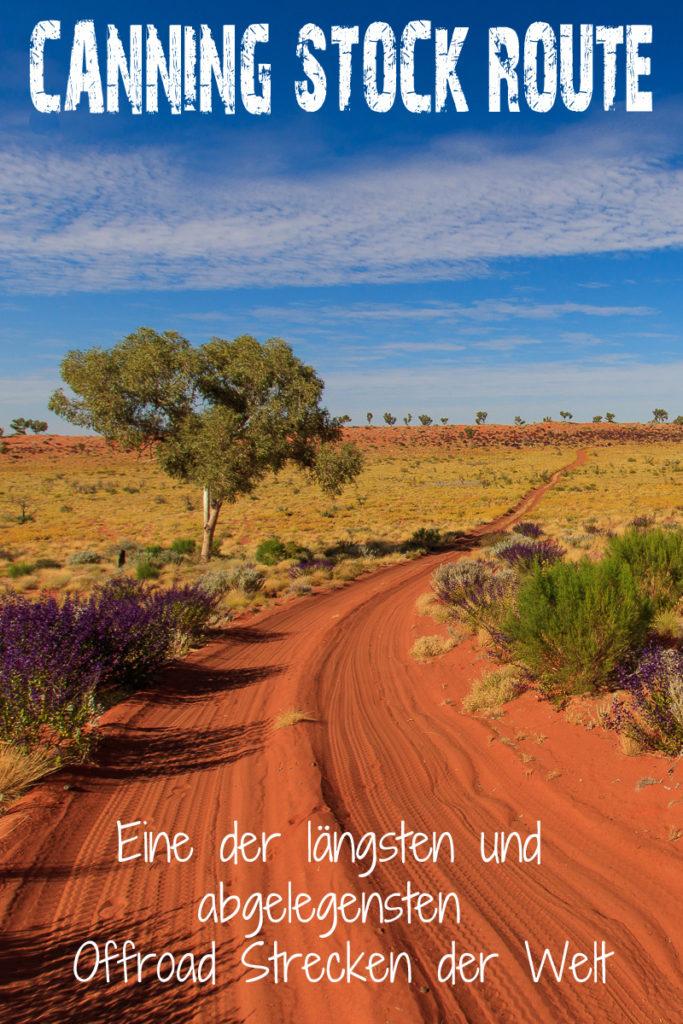 Die Canning Stock Route in Australien ist das ultimative Offroad Abenteuer