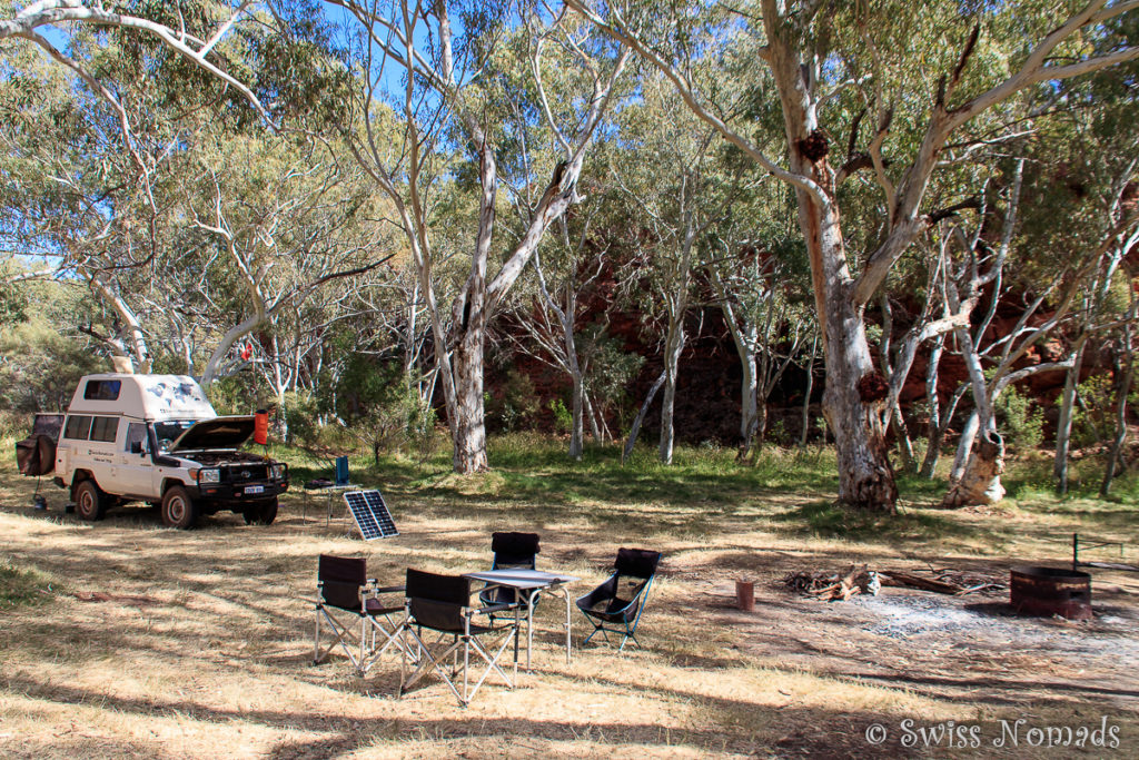 Durba Springs camp Canning Stock Route