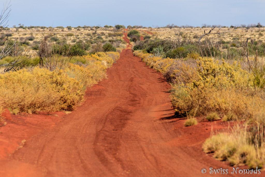 Der Gunbarrel Highway ist eine unbefestigte Strasse