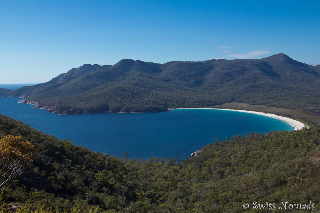 Wineglass Bay in Tasmanien
