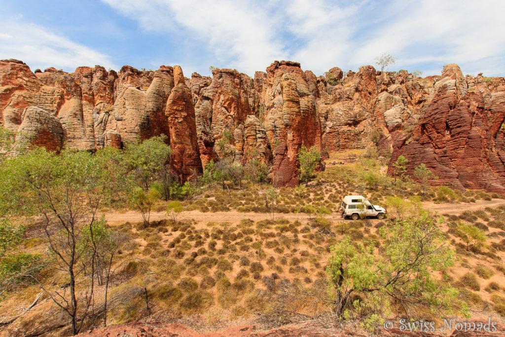 4WD Track durch die Western Lost City im Limmen Nationalpark