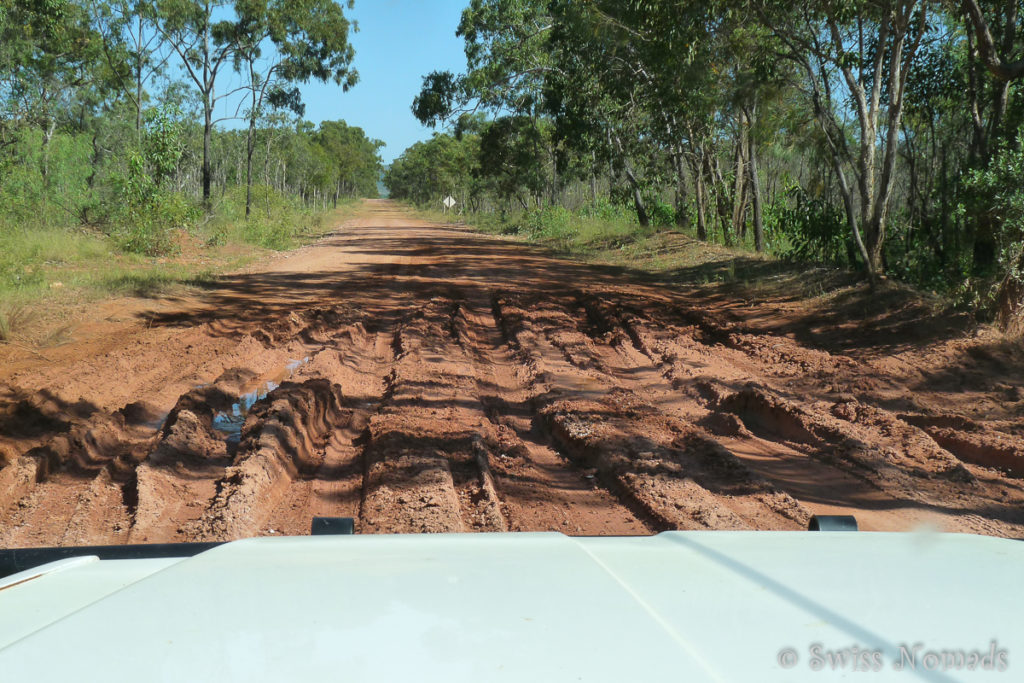 Die Battle Camp Road auf der Cape York Halbinsel